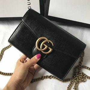 Gucci Mini Handbag Black Color
